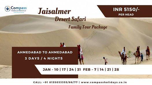 Jaisalmer Safari - Family Tour Package