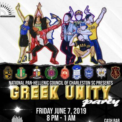 NPHC Charleston Greek Unity Party