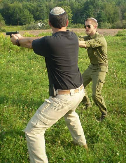 Basic Israeli point-shooting pistol course at Cherev Gidon