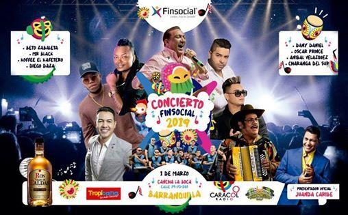 Concierto Carnaval Finsocial