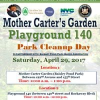 Playground 140 Park Cleanup