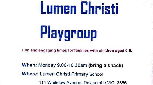 LCD Playgroup