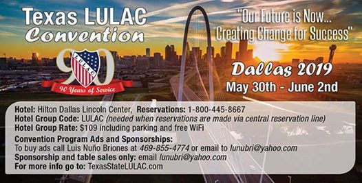 Texas LULAC 90th State Convention