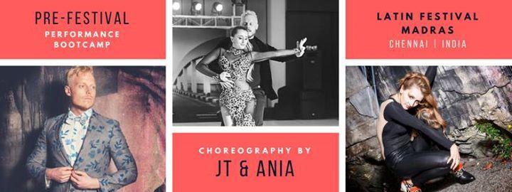 JT & ANIA Bachata pre-LFM Bootcamp