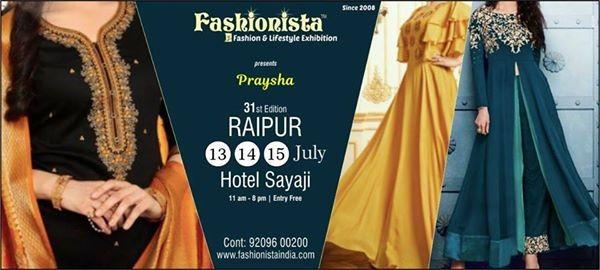 Praysha at Fashionista Exhibitions Raipur