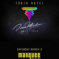 Tokio Hotel at Marquee Theatre