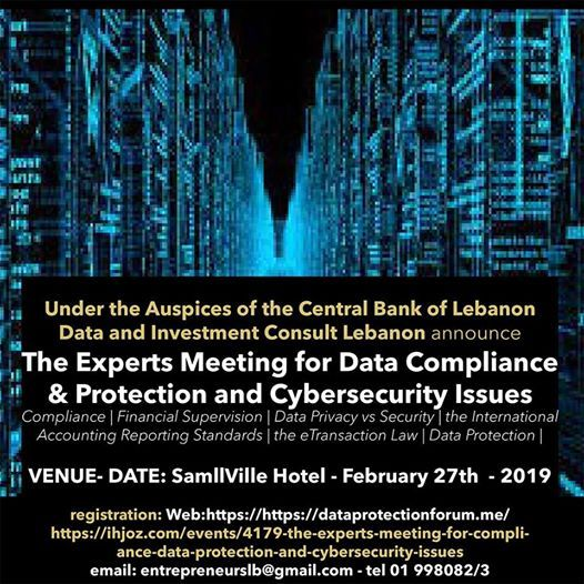 The Experts Meeting for Data Compliancre And Protection and Cybe