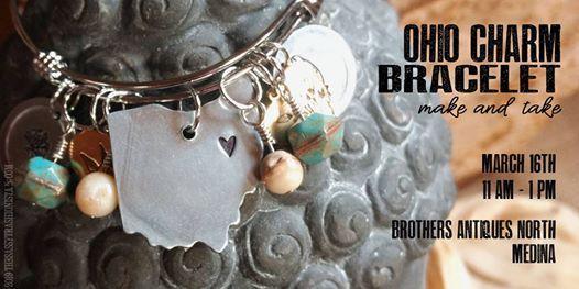 Ohio Charm Bracelet Make and Take 11-1