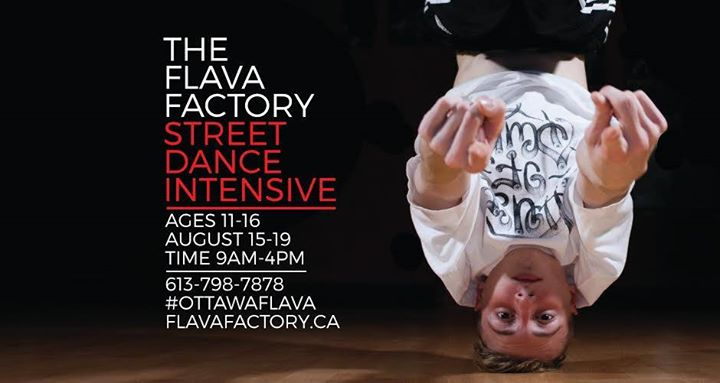 summer dance intensive at the flava factory ottawa. Black Bedroom Furniture Sets. Home Design Ideas