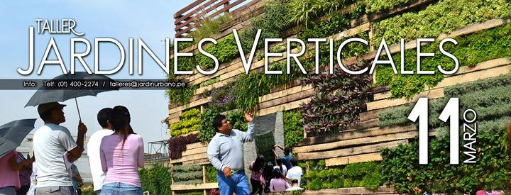 Taller de jardines verticales at jardin urbano lima for Jardines verticales lima