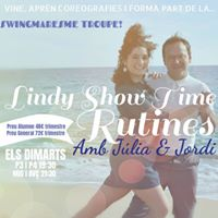 Lindy Show Time Rutines amb Jlia &amp Jordi