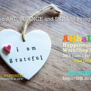 AHHaLife Happiness &amp Well-Being Coach Workshop