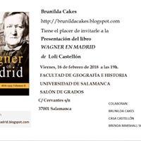 Presentacin &quotWagner en Madrid&quot en Salamanca