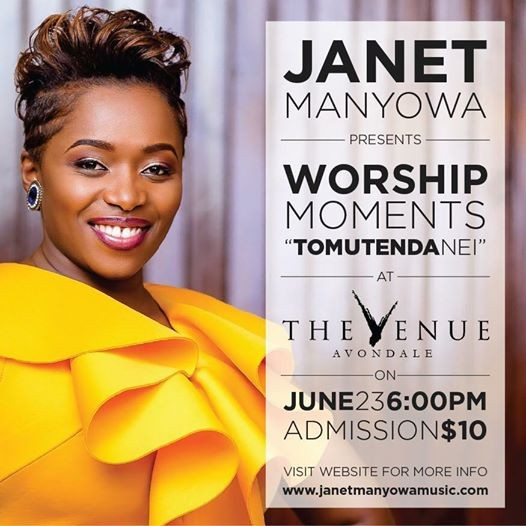 Worship Moments with Janet Manyowa