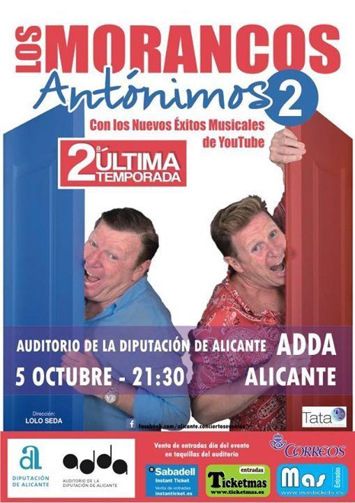 Los Morancos 5-oct-Alicante