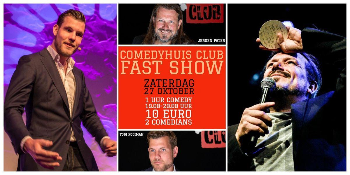 Fast Show Jeroen Pater & Tobi Kooiman (19.00 - 20.00)
