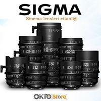 SIGMA sinema lensleri deneyimleme.