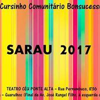 SARAU 2017 - Cursinho Comunitrio Bonsucesso