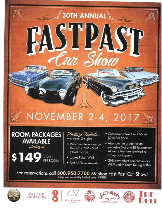 Th Annual Fast Past Car Show At Golden Nugget Laughlin Laughlin - Laughlin car show