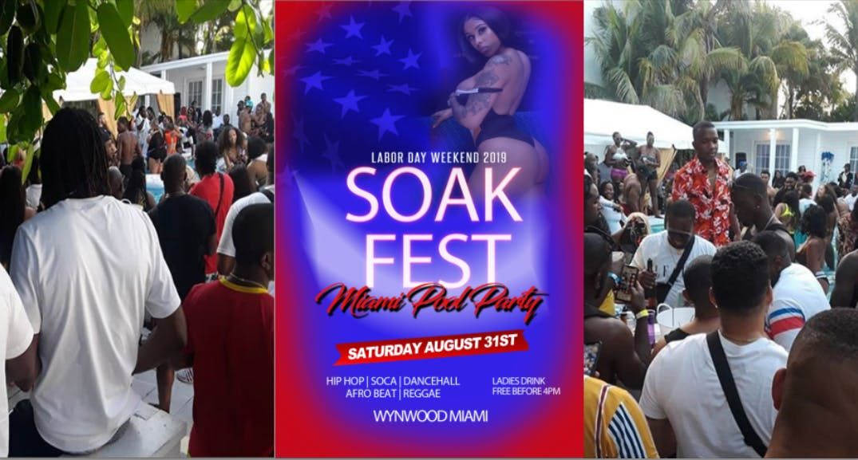 Soak Fest Miami Pool Party Labor Day Weekend 2019 At Wynwood Miami