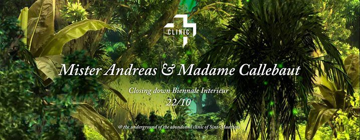 Mr Andreas & Mme Callebaut are closing down Biennale Interieur