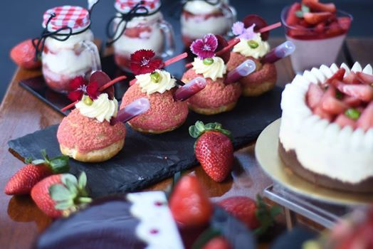 Strawberry temptation at Gourmet Store