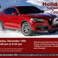 Stelvio Test Drive Event  Christmas Party