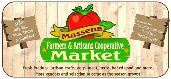 Massena Farmers & Artisan Cooperative Market at Massena