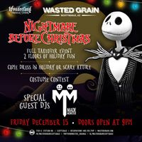 Nightmare Before Christmas Party Featuring Made Monster