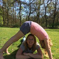 Ouder en kind yoga les