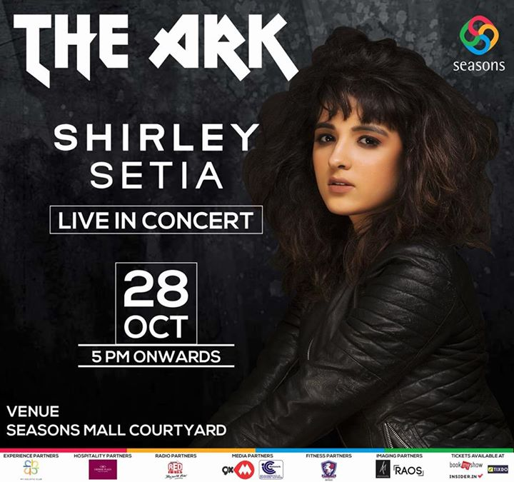 Shirley Setia live in Concert at The ARK Seasons Mall