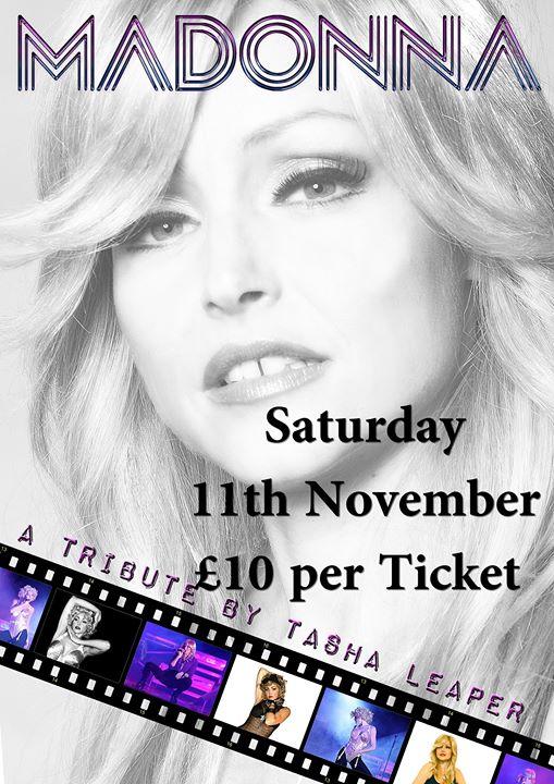 Madonna Tribute 10 ticket