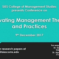 Conference on Renovating Management Theories and Practices