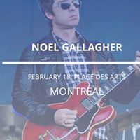Noel Gallagher in Montreal