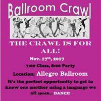 Ballroom Crawl November