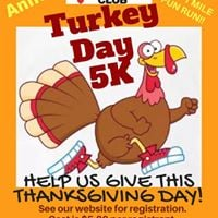 2nd Annual Turkey Day 5K