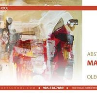Abstract Painting Masterclass with Oleg Nedoshytko