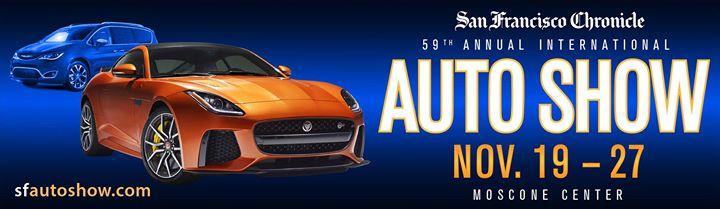Th Annual San Francisco Auto Show At Moscone Center Sf Auto - Moscone car show