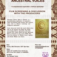 Ancestral Voices Spirit is Eternal - Film &amp Discussion