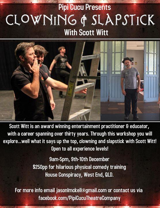 Clowning & Slapstick Workshop with Scott Witt