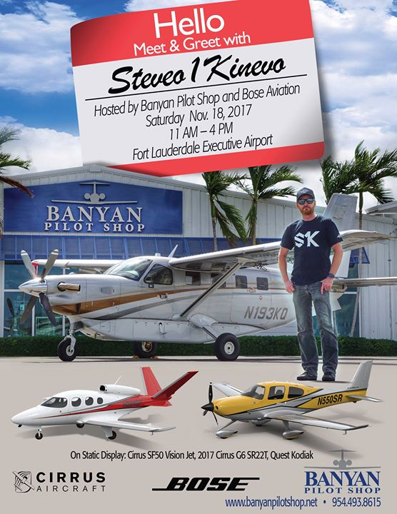 Meet & Greet with Steveo1Kinevo Hosted by Banyan & Bose