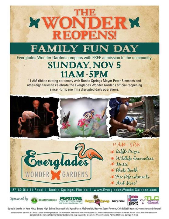 Bonita springs family fun day at everglades wonder gardens bonita bonita springs family fun day at everglades wonder gardens mightylinksfo