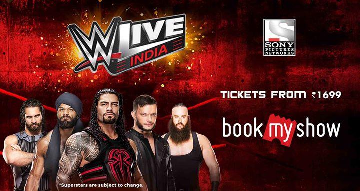 WWE Live India 2017