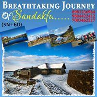 Snow trek  Sandakphu