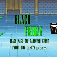 Black Friday Black Mage Tap Takeover