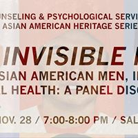 The Invisible Man AsianAsian American Men and Mental Health
