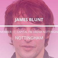 James Blunt in Nottingham