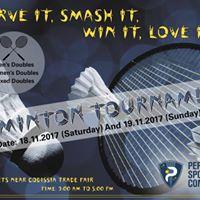 Personiv Badminton Championship 2017