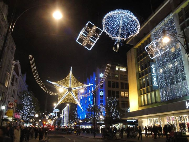 Oxford Street Christmas Lights switch on 2017