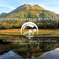 Philippine Chieftain MT APO Traverse (Sta Cruz-Kidapawan Trail)
